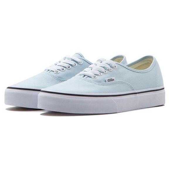baby blue vans shoes